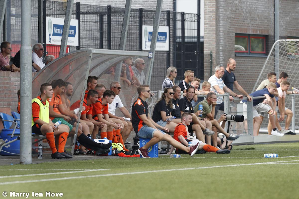 Eerste oefenwedstrijd eerste selectie ESC – DSV'61 0-1 - Elburger SC
