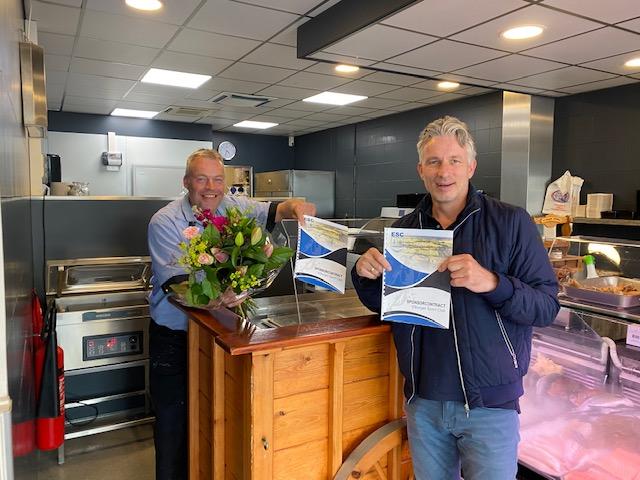 Viswinkel Het Bottertje verlengt sponsorcontract - Elburger SC