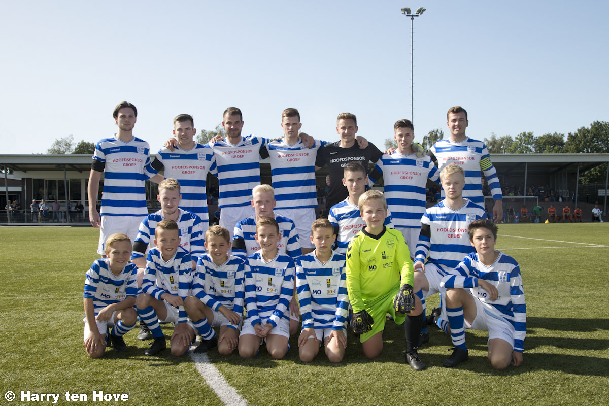 Team van de week JO12-1 - Elburger SC