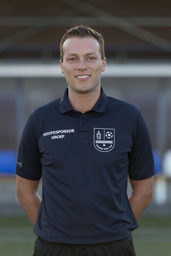 Raoul Jessurun komend seizoen trainer JO19-1 - Elburger SC