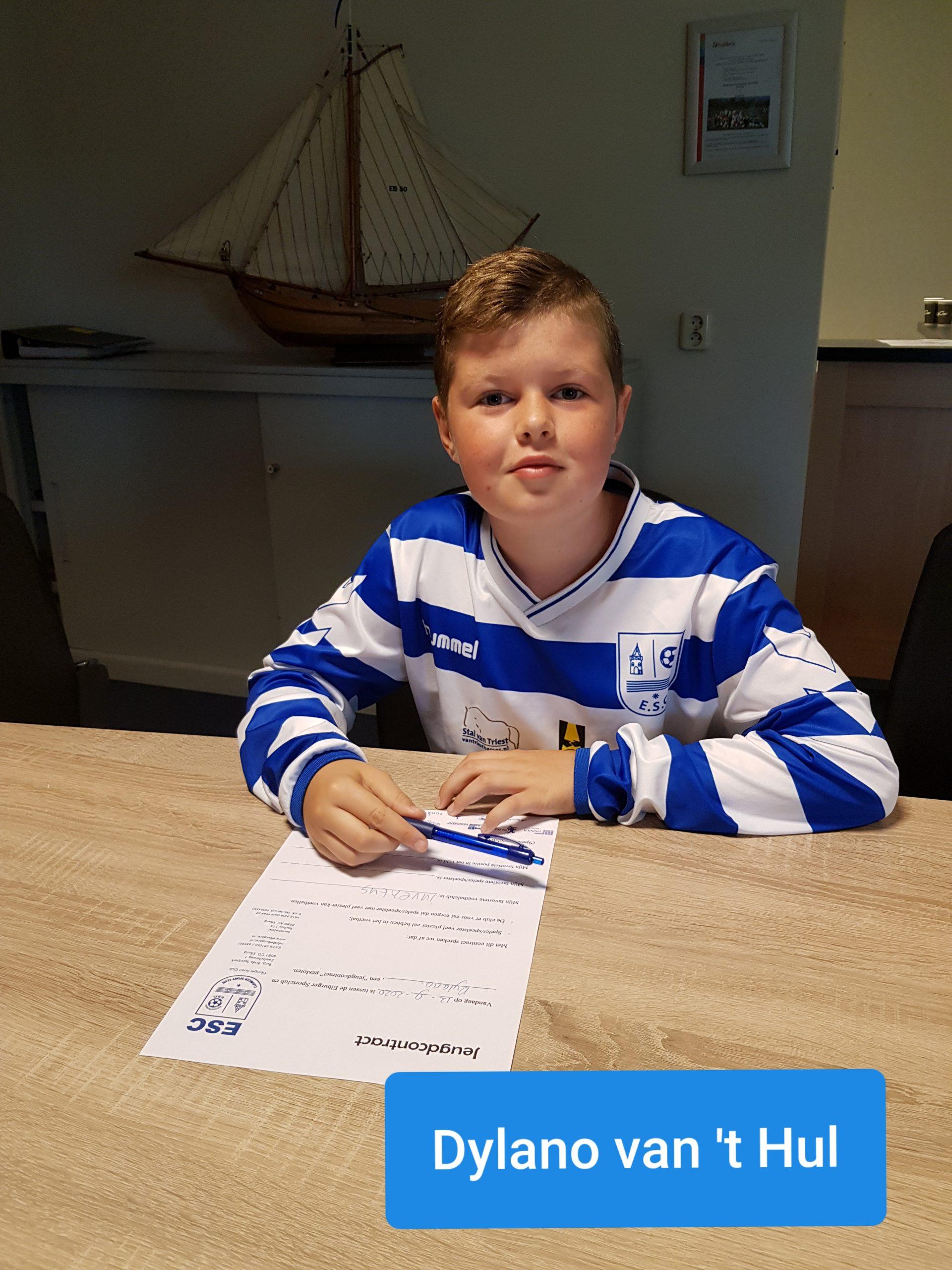 Wederom een aantal nieuwe jeugdleden - Elburger SC