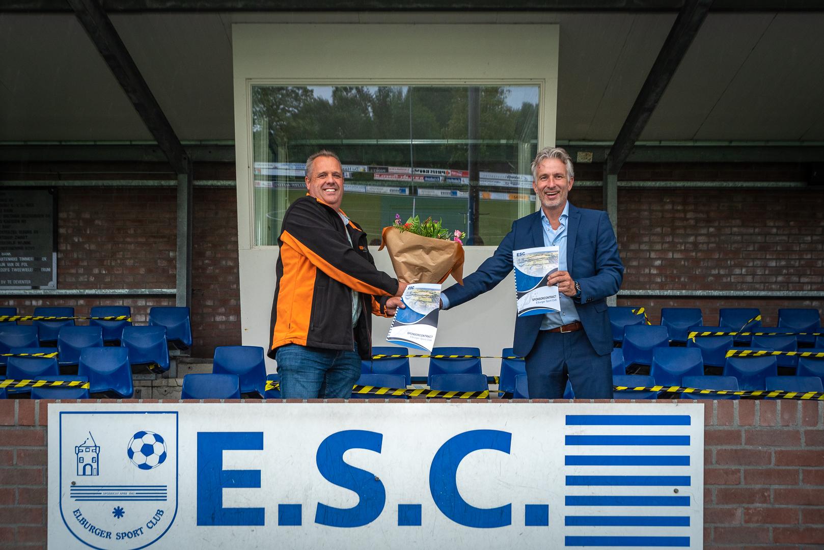 VDH Civiel Projectmanagement verbindt zich aan ESC - Elburger SC
