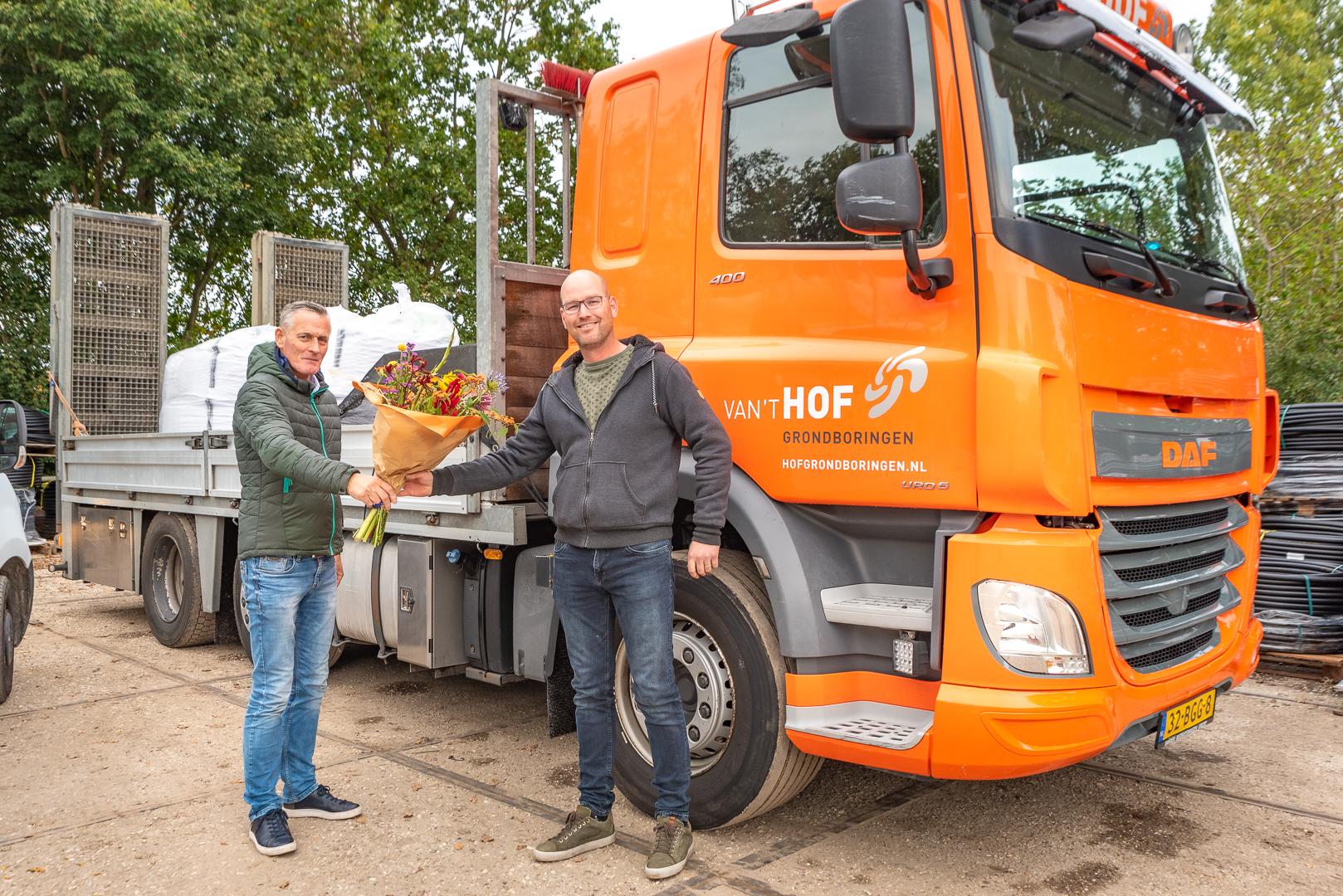 Van 't Hof Grondboringen nieuwe bordsponsor - Elburger SC