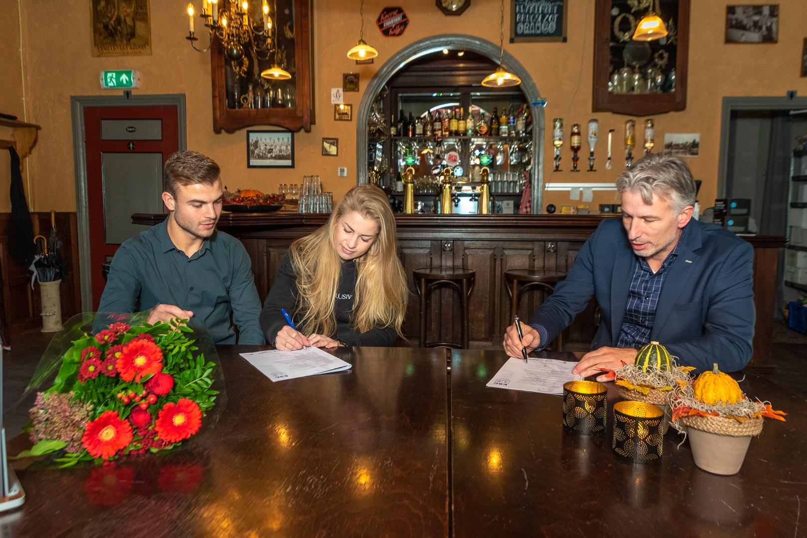 Café de Haven verlengt sponsorcontract - Elburger SC