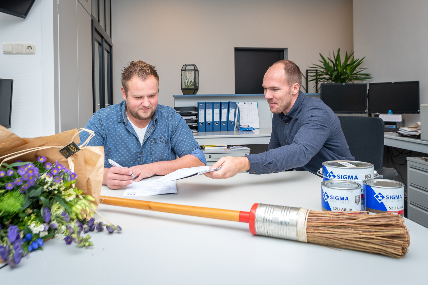 Hoofdsponsor Blaauw Perioverf Elburg B.V. verlengt sponsorcontract met 1 jaar - Elburger SC