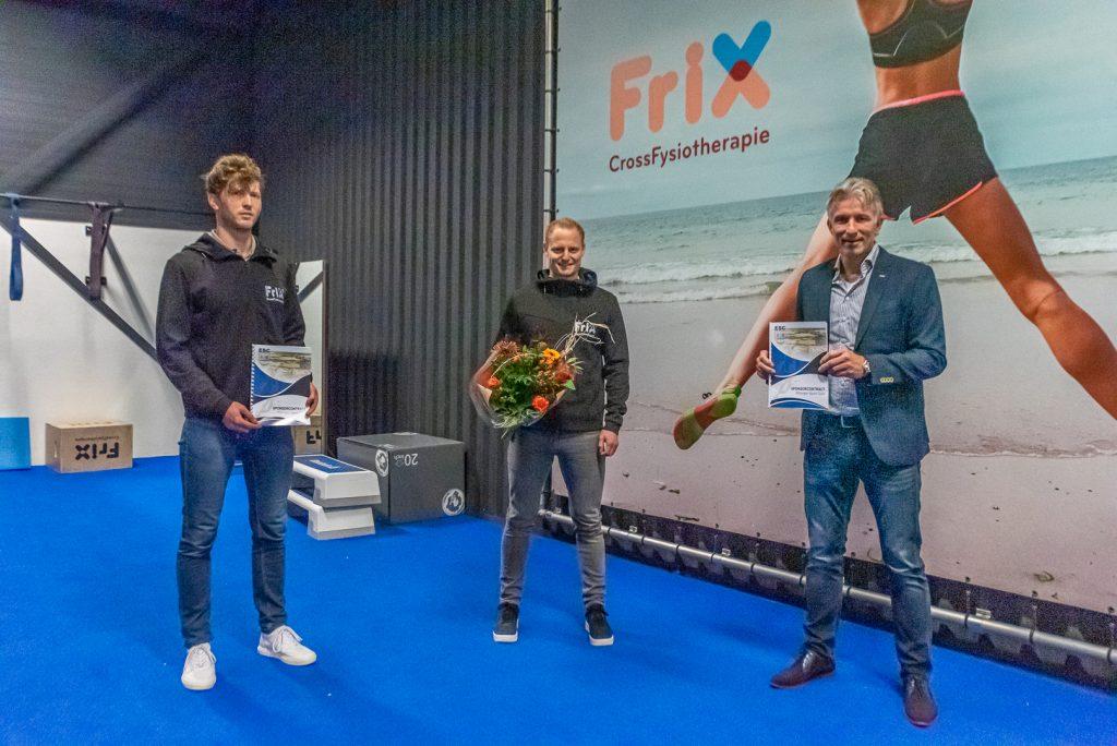 ElburgerSC - FriX CrossFysiotherapie continueert als Hoofdsponsor