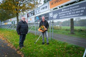 ElburgerSC - Elburger SC verwelkomt Stratenmaker Marcel Bosman als nieuwe sponsor