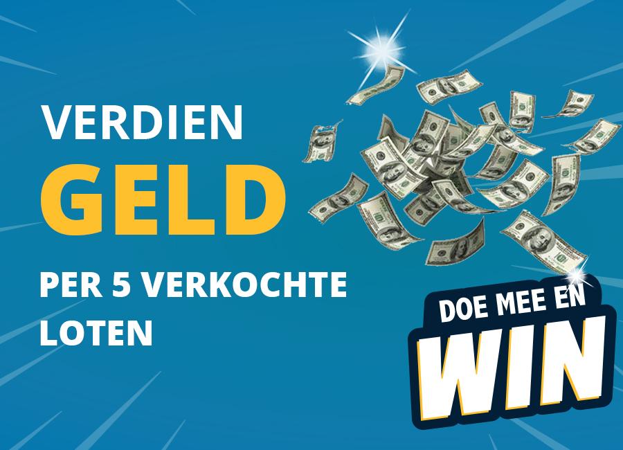 Verdien geld door zoveel mogelijk loten te verkopen - Elburger SC