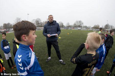Wilfred van den Hoorn ook komend seizoen hoofdtrainer in de Onderbouw - Elburger SC