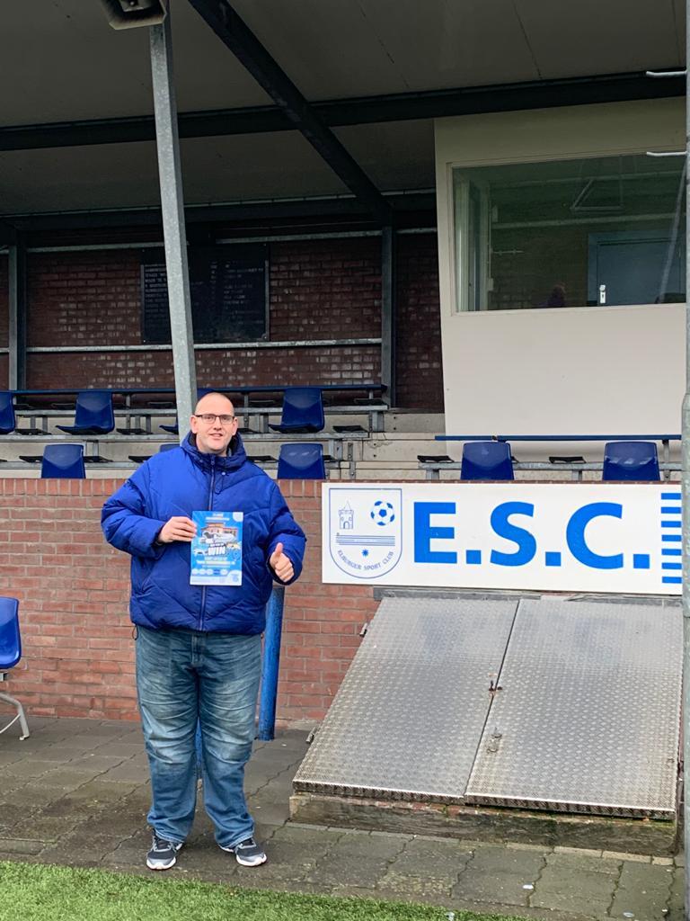 Winnaars social media actie Frans & Fred - Elburger SC