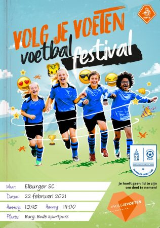 KNVB Voetbalfestival - Elburger SC