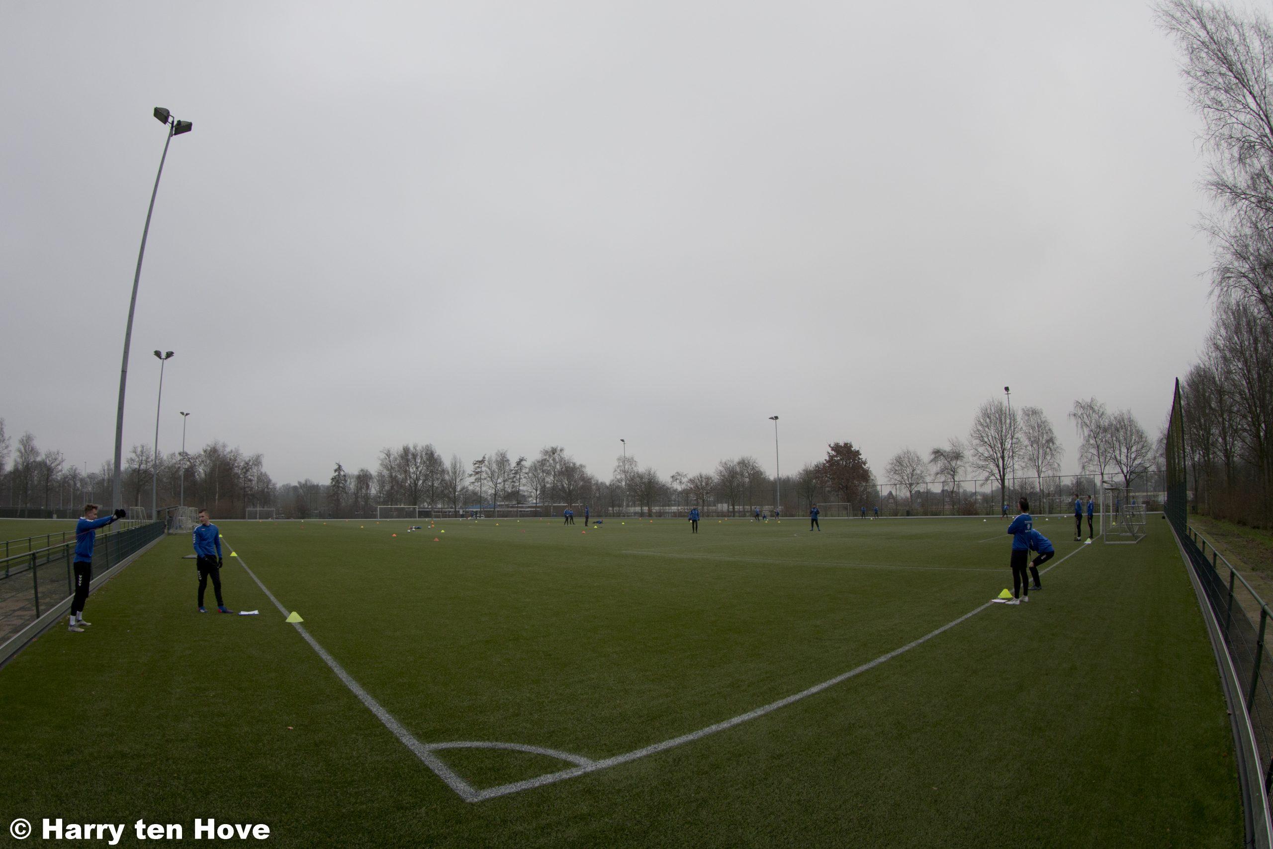 Eerste training ESC 1 in 2021 - Elburger SC