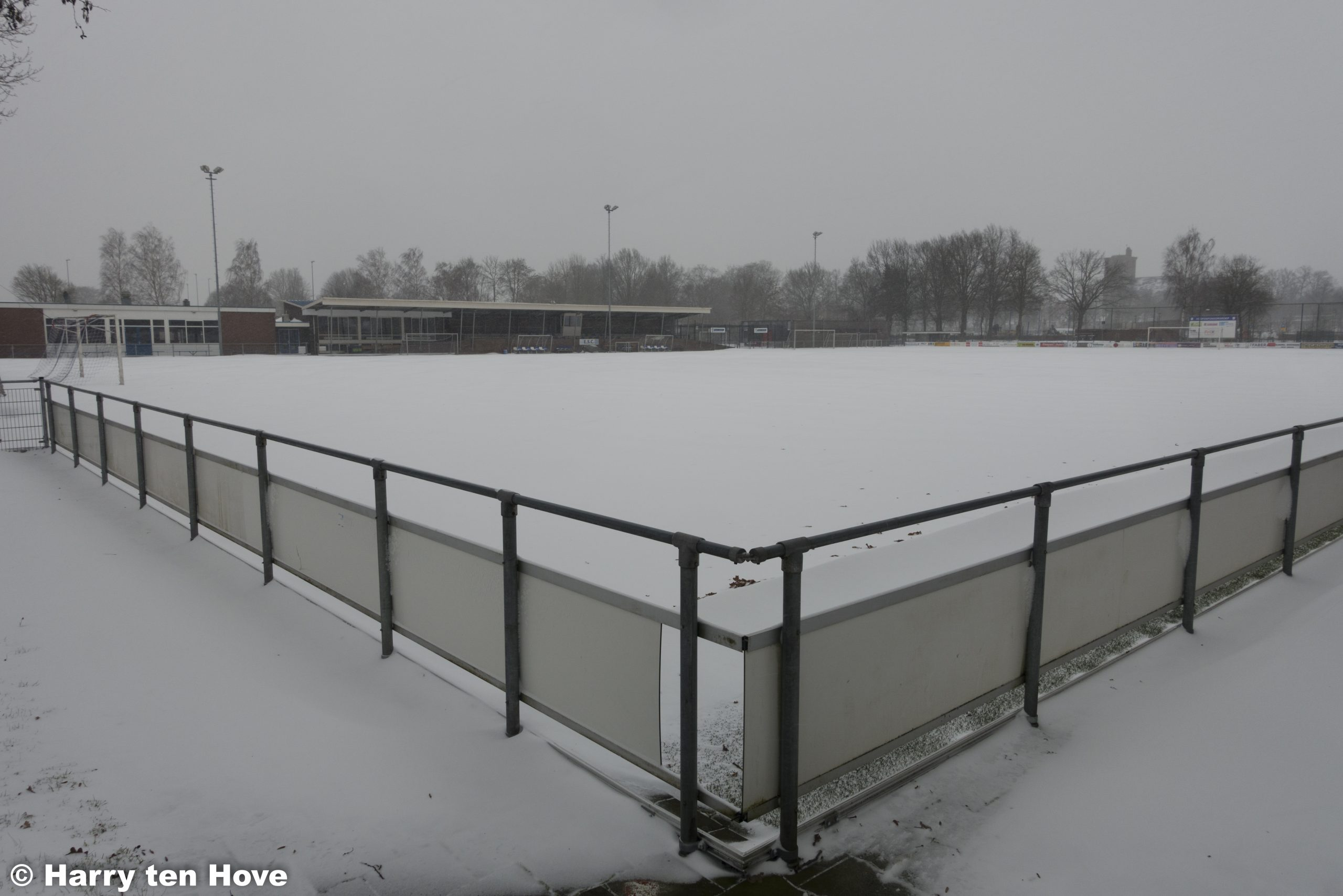 Voorlopig geen trainingen of wedstrijden op het Burgemeester Bode sportpark - Elburger SC