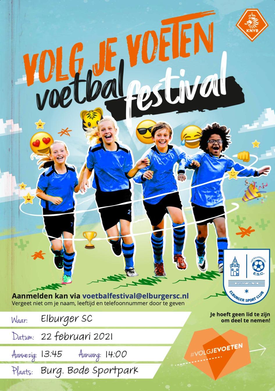 KNVB voetbalfestival