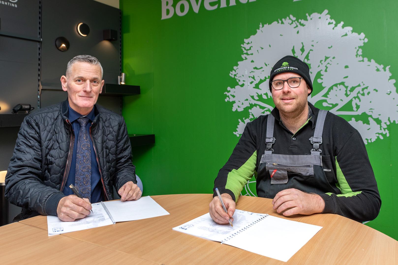 ElburgerSC - Bovendorp & Sellis Hoveniers nieuwe bronssponsor bij ESC