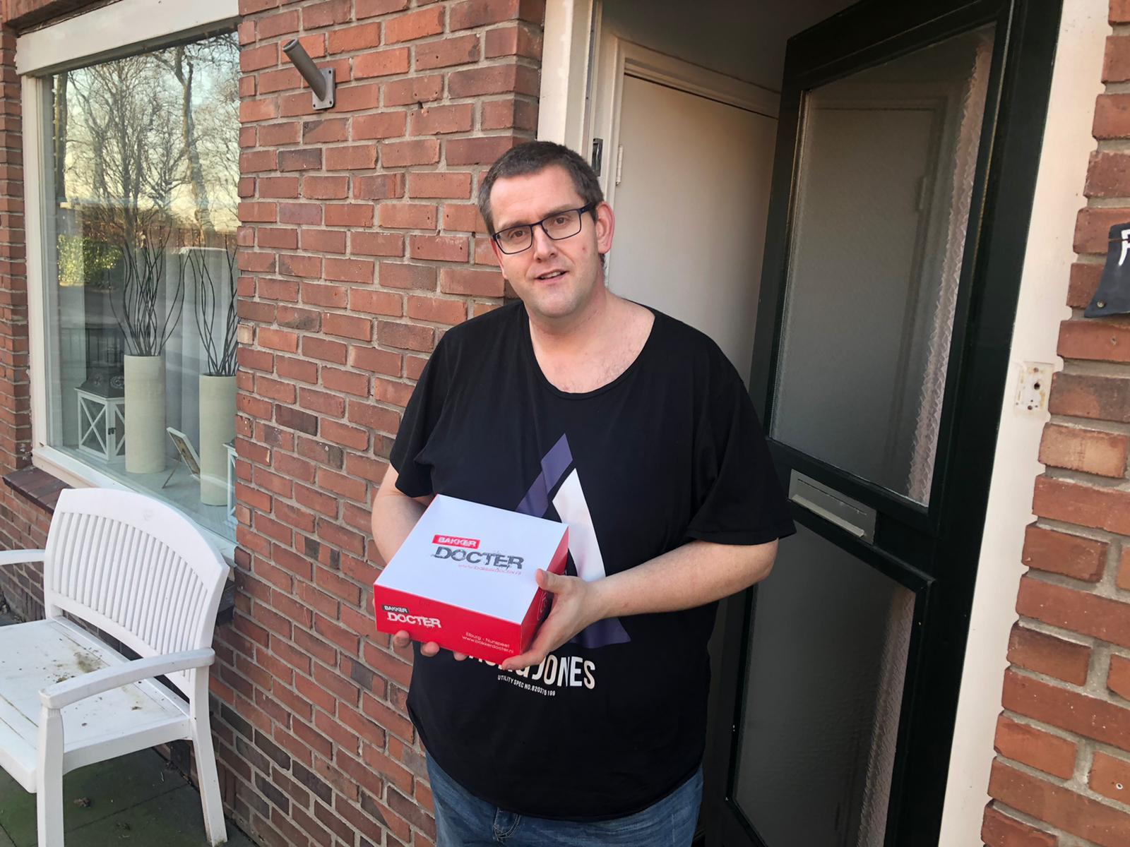 Winnaars slagroomtaarten verkoopactie 75-Jarig Jubileumverloting - Elburger SC