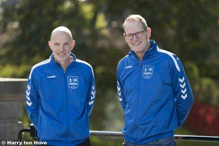 Contractverlenging hoofdtrainers Bert Lowijs en Jan Dickhof bij ESC VR1 - Elburger SC