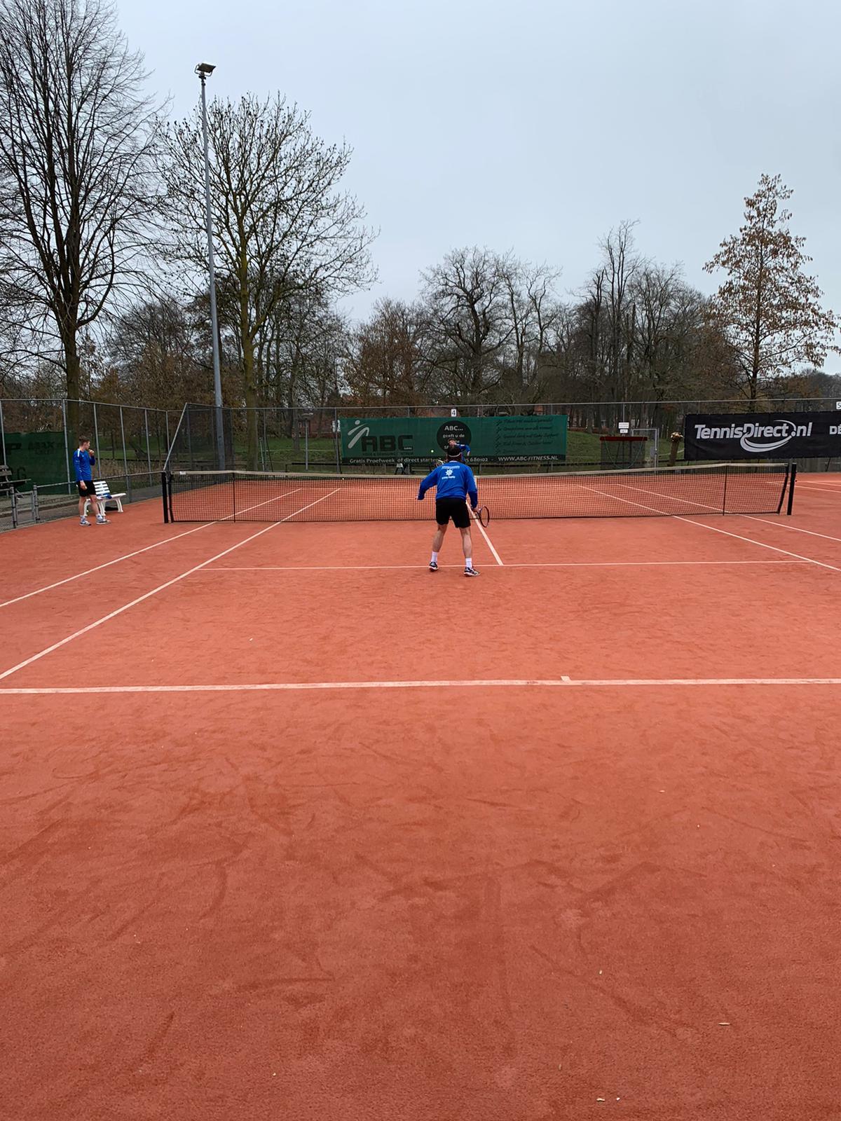 Vierde training ESC1 in 2021, tennistoernooi - Elburger SC