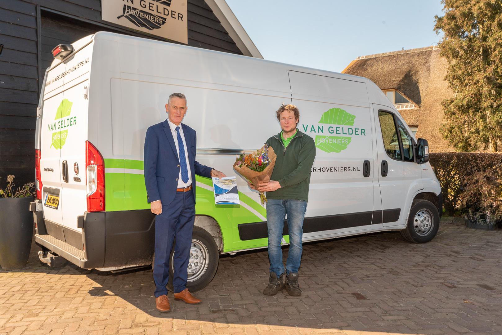 ElburgerSC - Van Gelder Hoveniers nieuwe bordsponsor