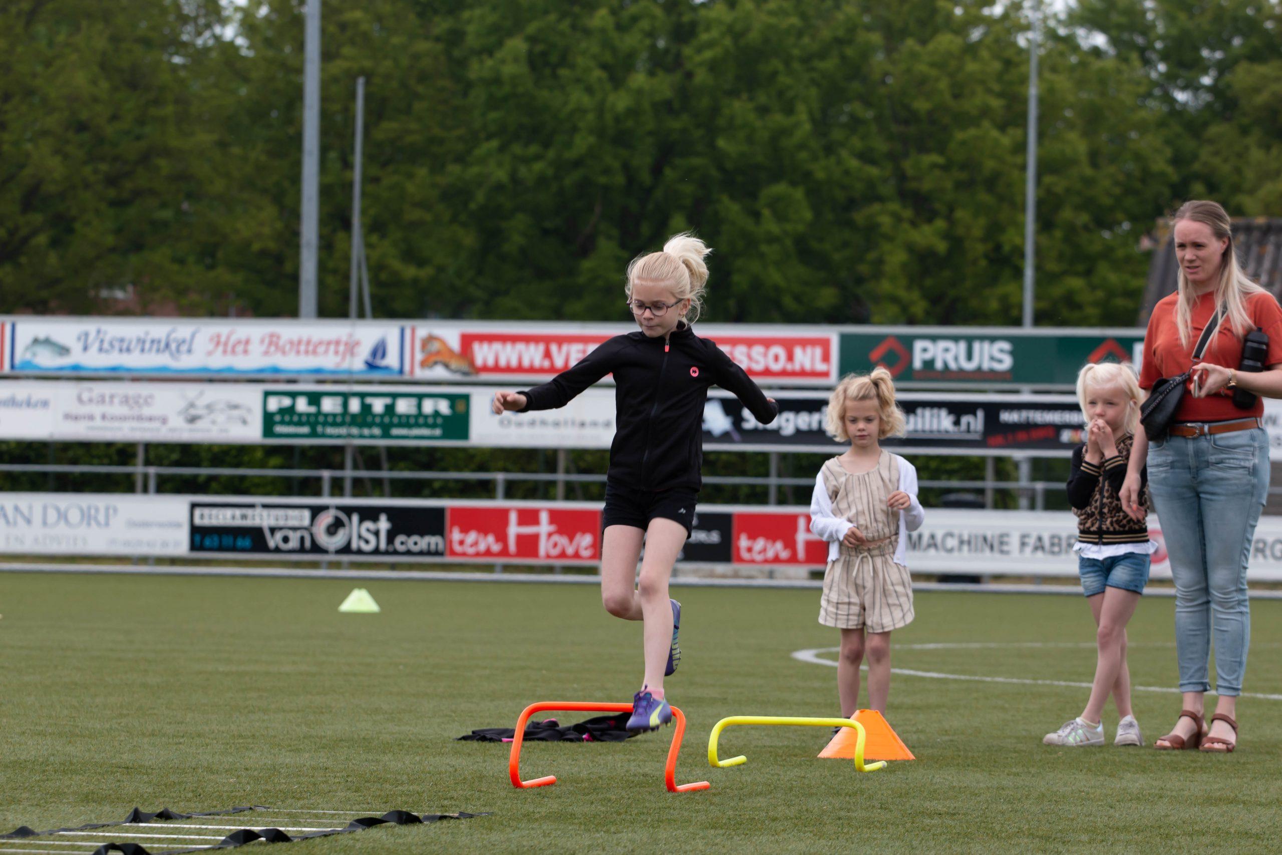 ElburgerSC - Afsluiting voetbalschool en inlooptraining groot succes!
