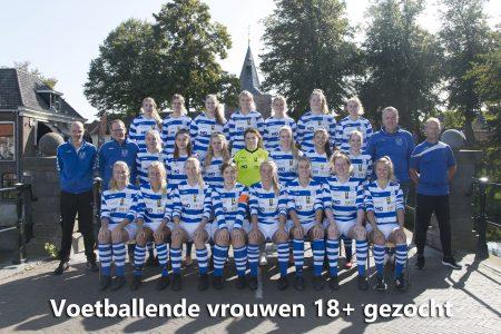 Voetballende vrouwen 18+ gezocht - Elburger SC