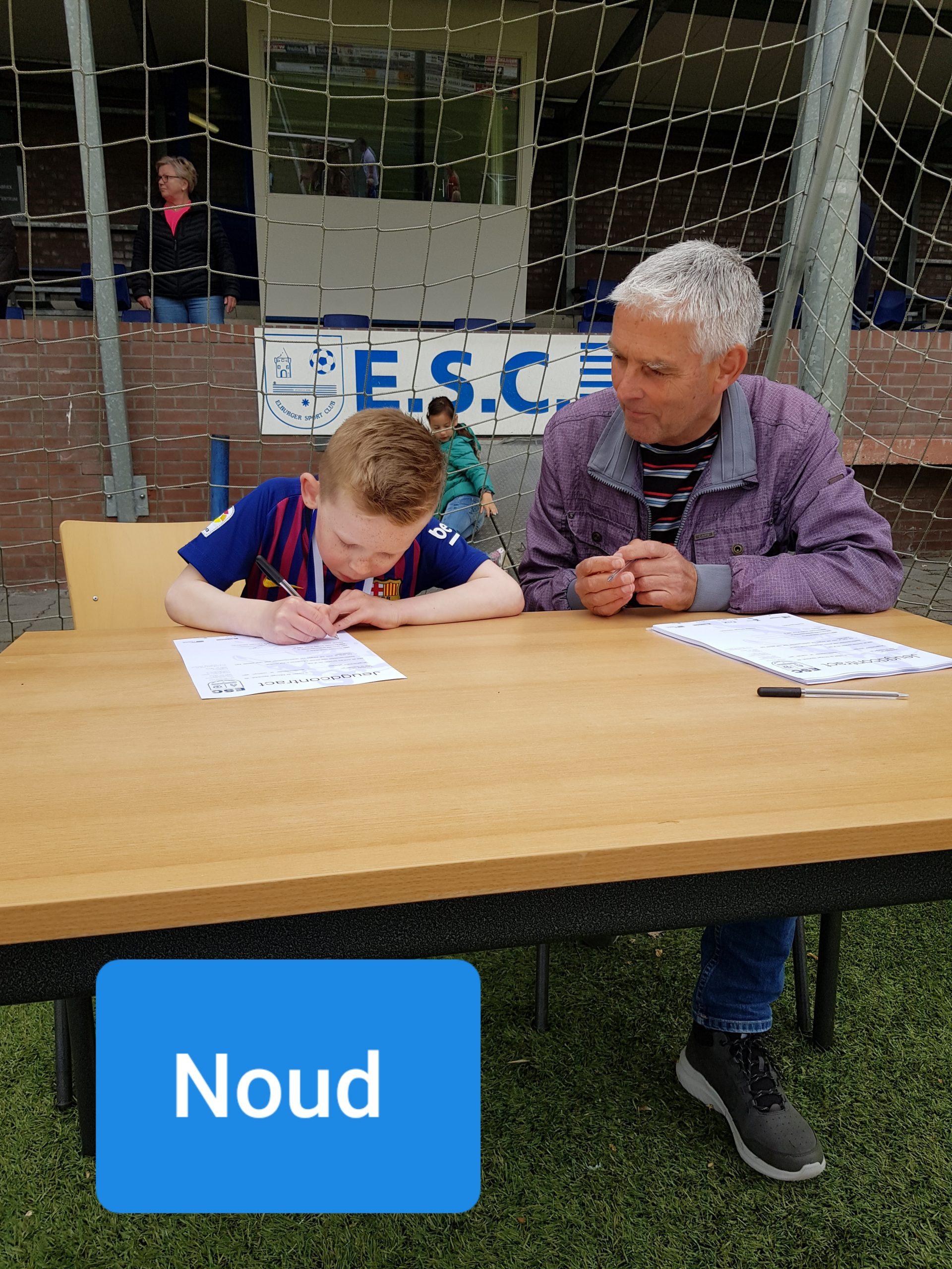 ElburgerSC - Welkom aan onze nieuwe voetbaltoppers!