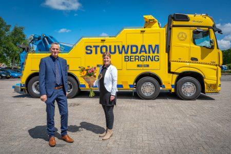 Stouwdam Kraan- en Bergingsbedrijf nieuwe sponsor - Elburger SC