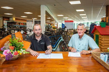 Bike Totaal Koops nieuwe bordsponsor - Elburger SC