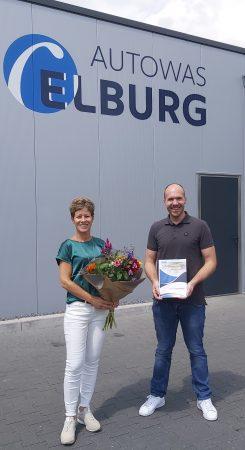Verlenging sponsorcontract Autowas Elburg - Elburger SC