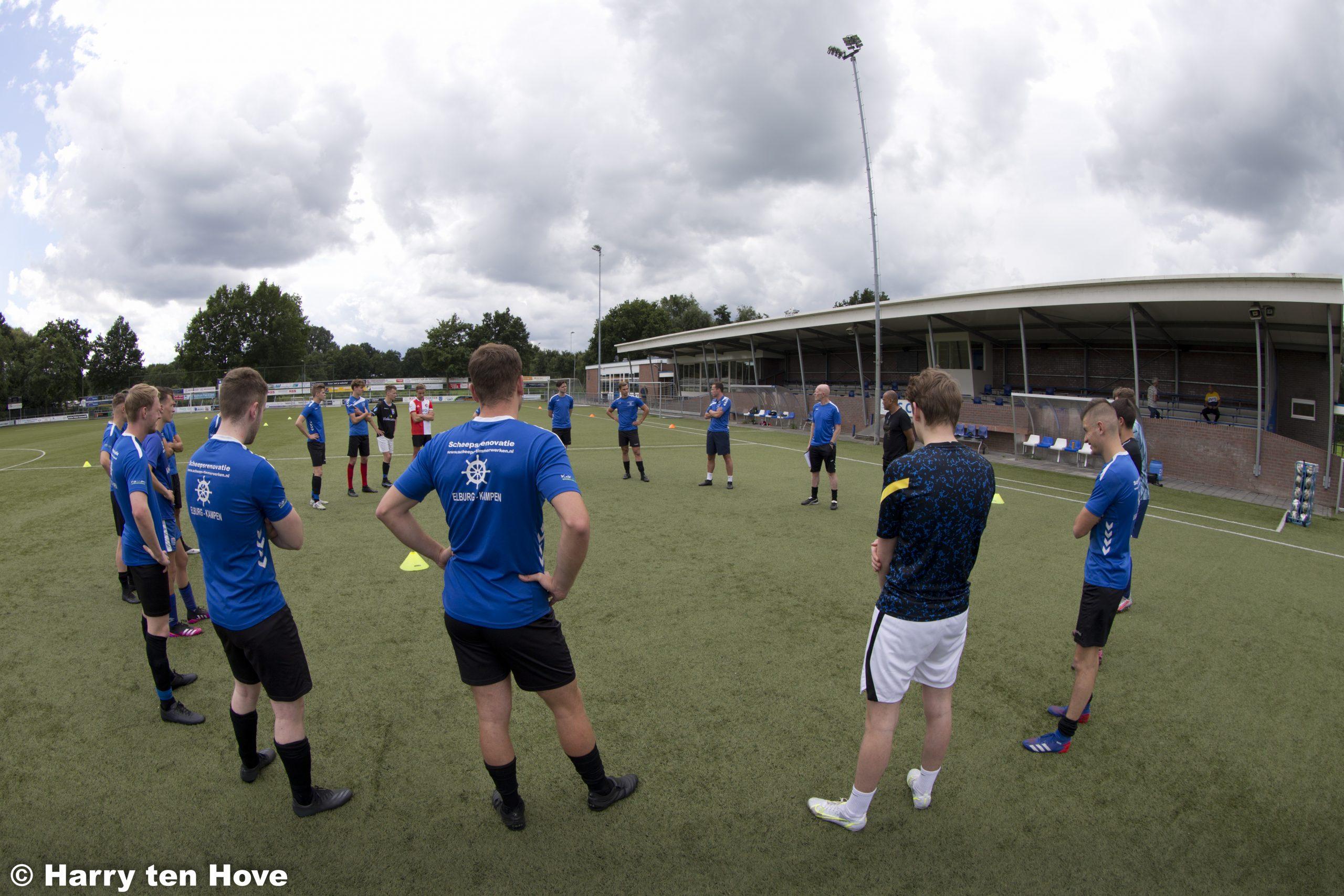 ElburgerSC - Eerste training ESC 1 voor het seizoen 2021 – 2022