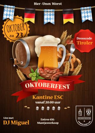 ESC Oktoberfest op zaterdag 23 oktober - Elburger SC